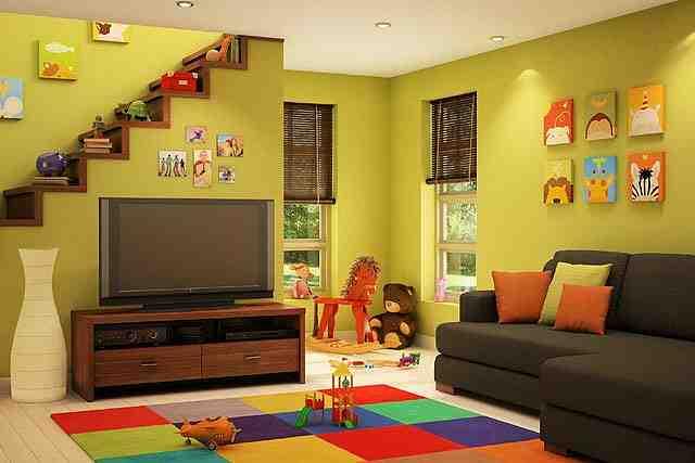living room design kids photo - 4