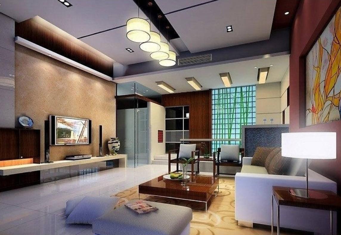 living room design lighting photo - 10