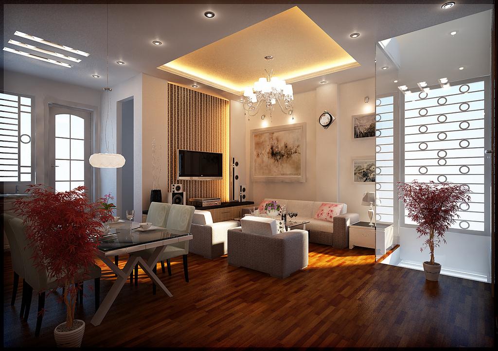living room design lighting photo - 2