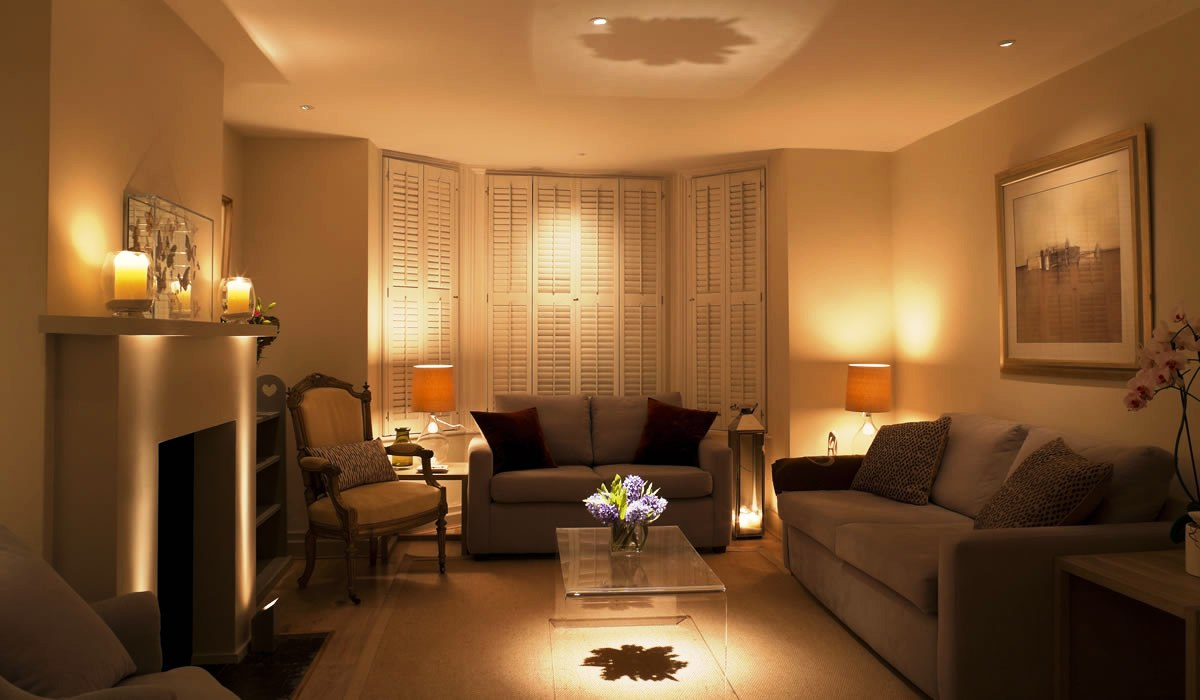 living room design lighting photo - 5