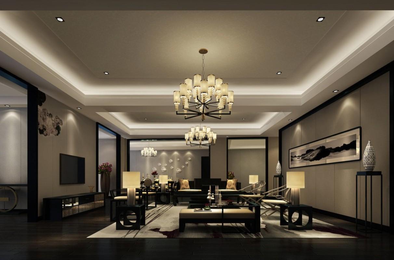 living room design lighting photo - 7