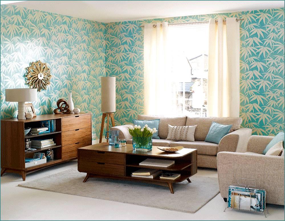 living room design retro photo - 1