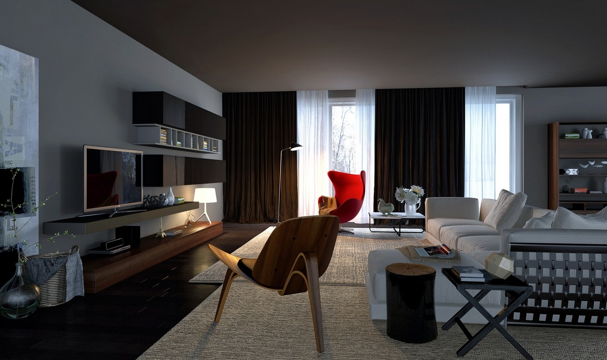 living room designs and decorating photo - 3