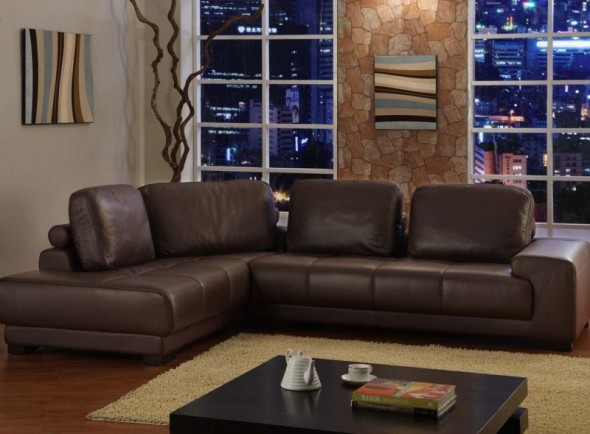 Living room designs brown couch Hawk Haven