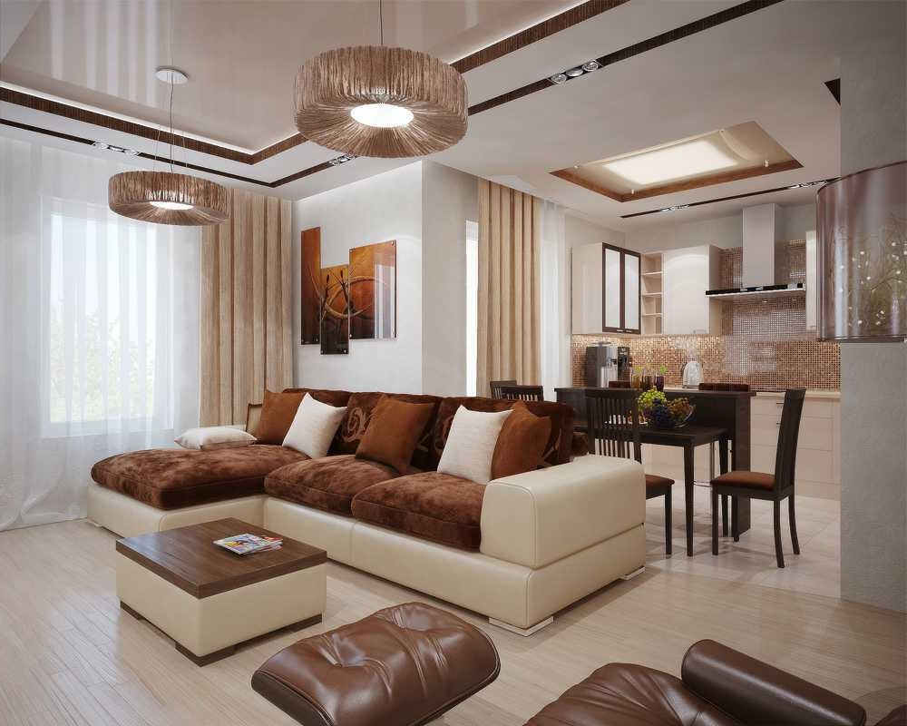 living room designs color photo - 6