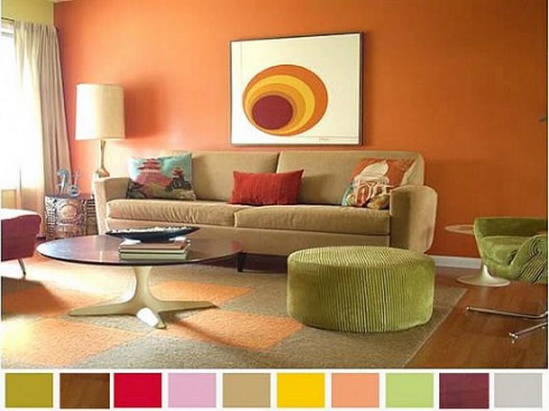 living room designs color photo - 8