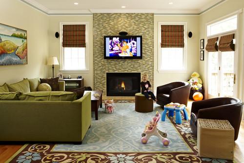 living room designs kid friendly photo - 1