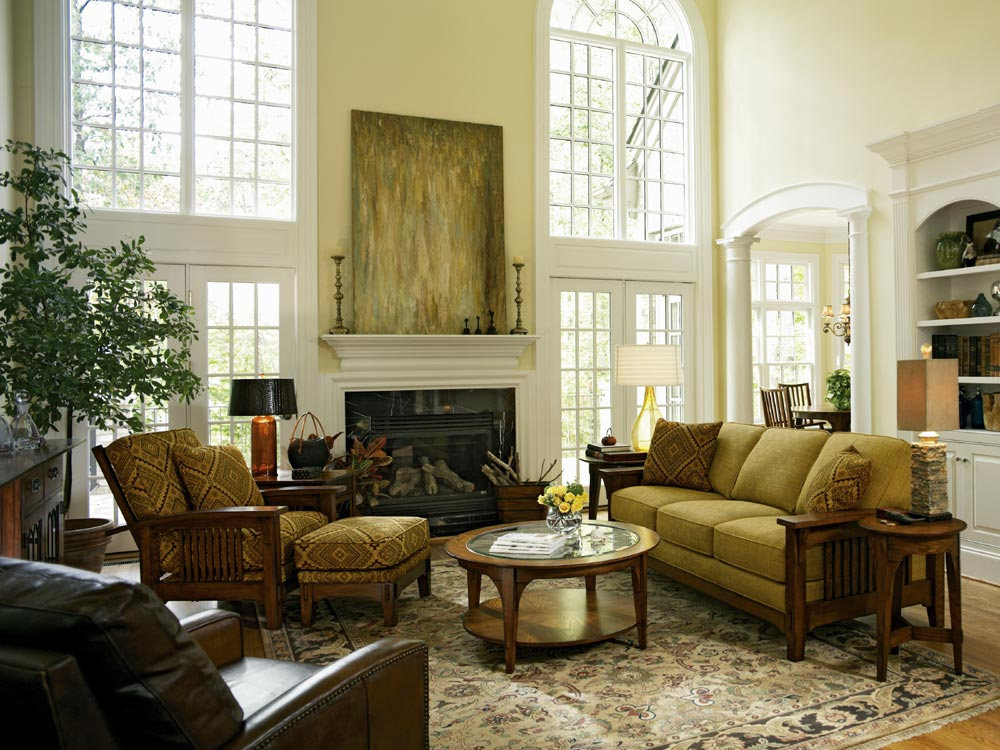 Living Room Furniture Ideas Traditional Photo   1