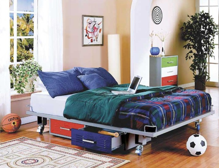 locker style bedroom furniture for kids photo - 10