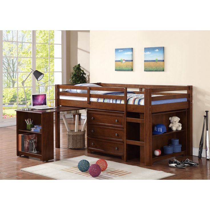 low twin beds for kids photo - 10