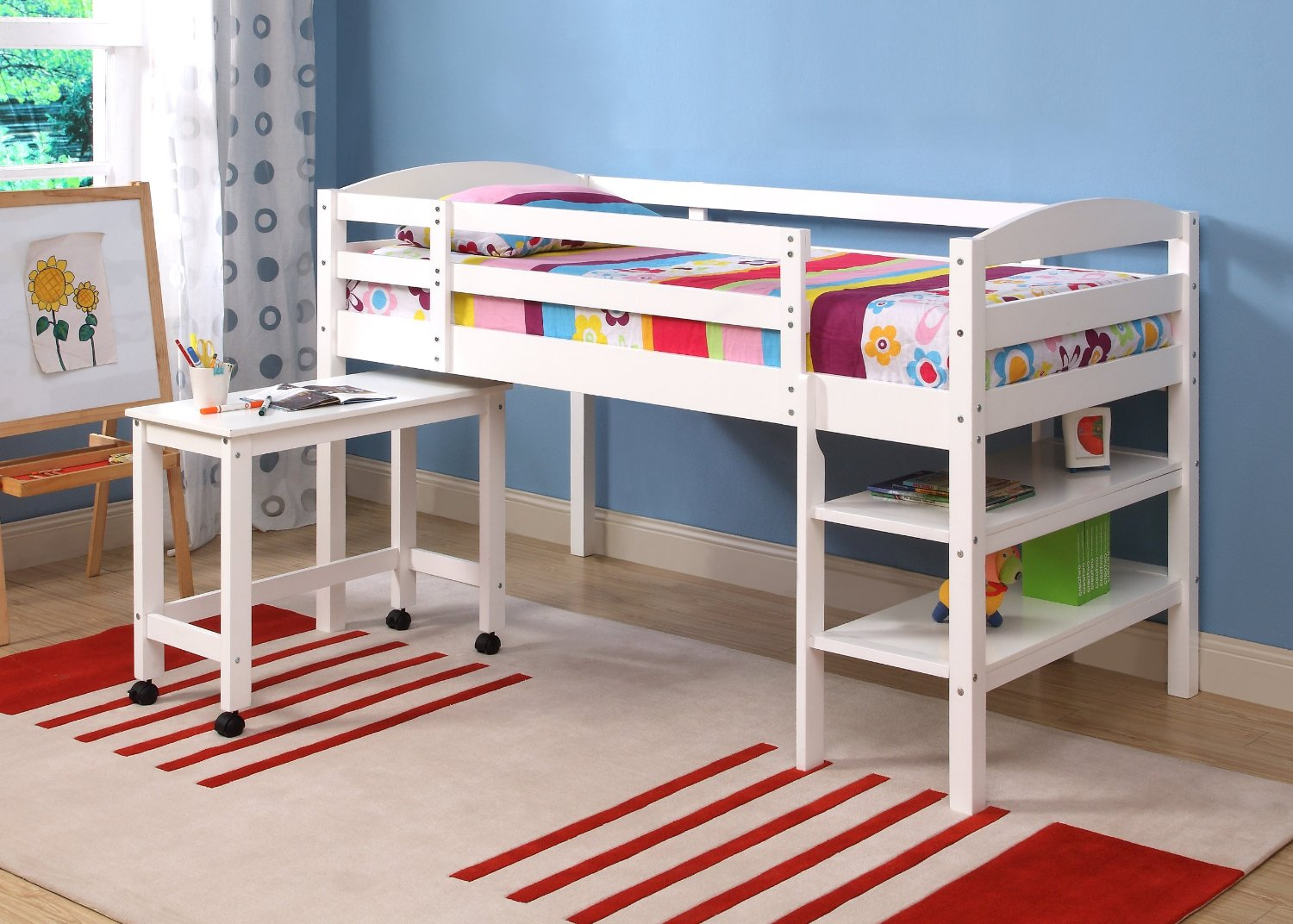low twin beds for kids photo - 4