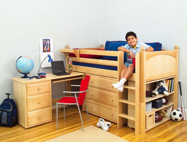 low twin beds for kids photo - 7