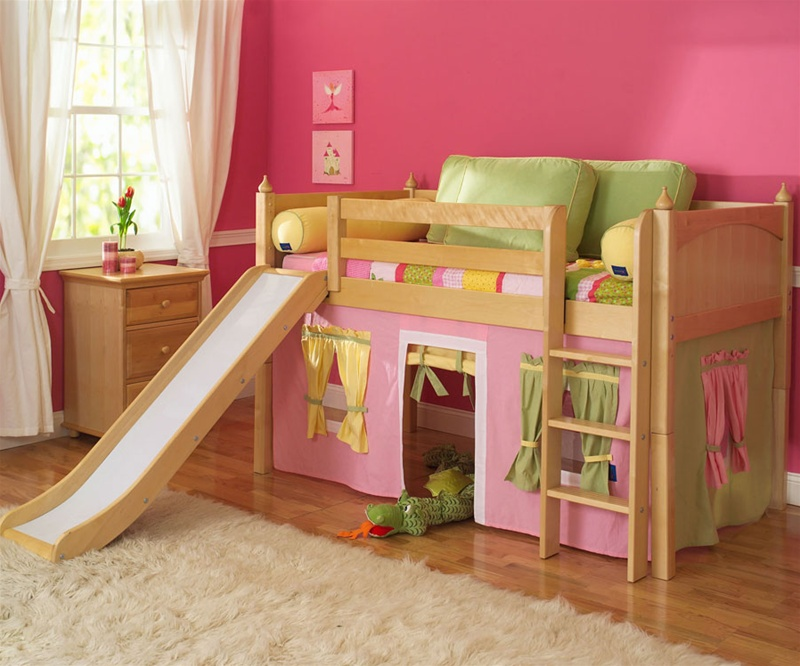 low twin beds for kids photo - 8