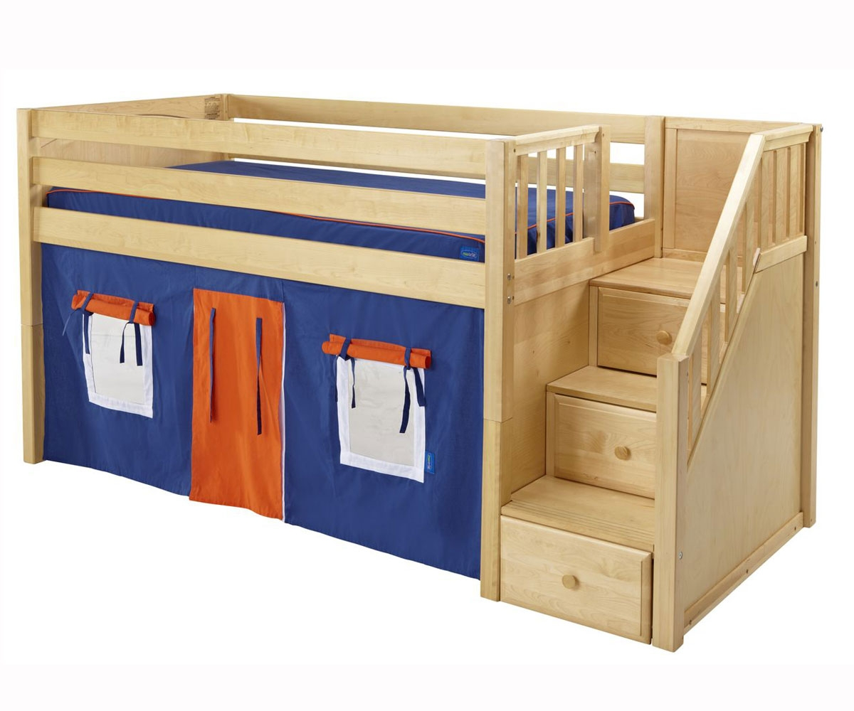 low twin beds for kids photo - 9