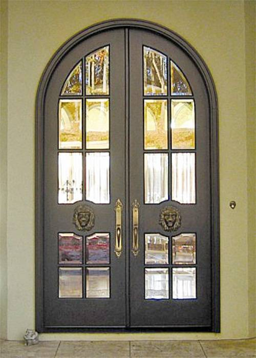 lowes double french doors exterior photo - 2