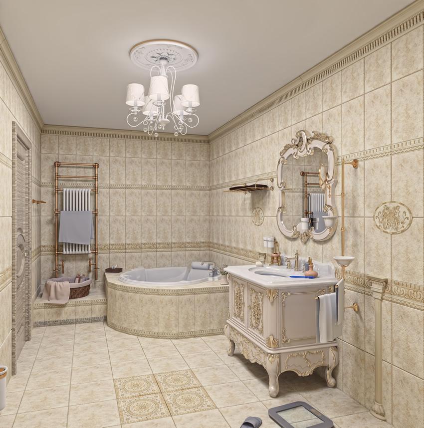 luxury bathroom tiles designs photo - 10