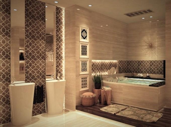 luxury bathroom tiles designs photo - 2