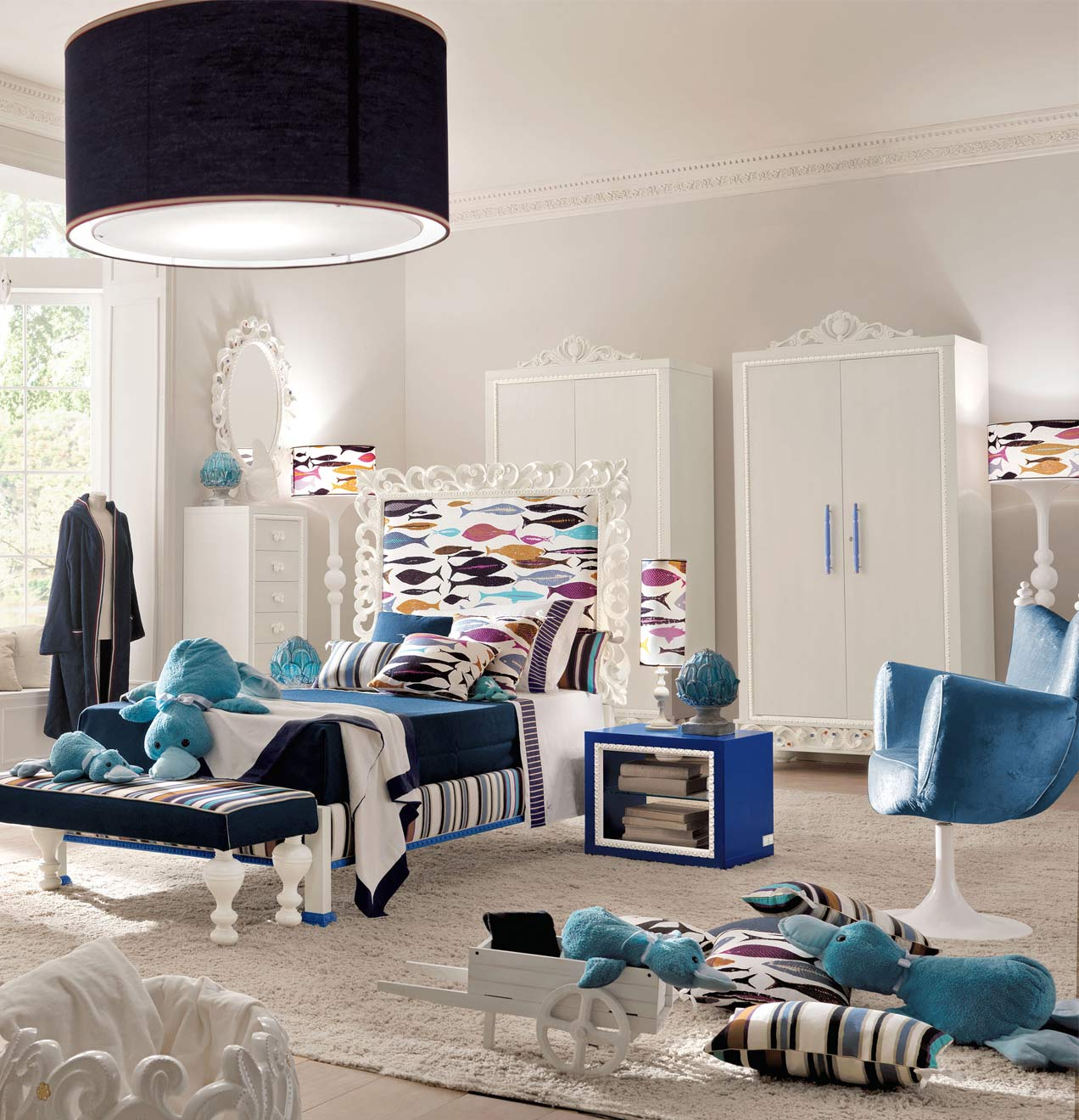 luxury bedroom furniture for kids photo - 2