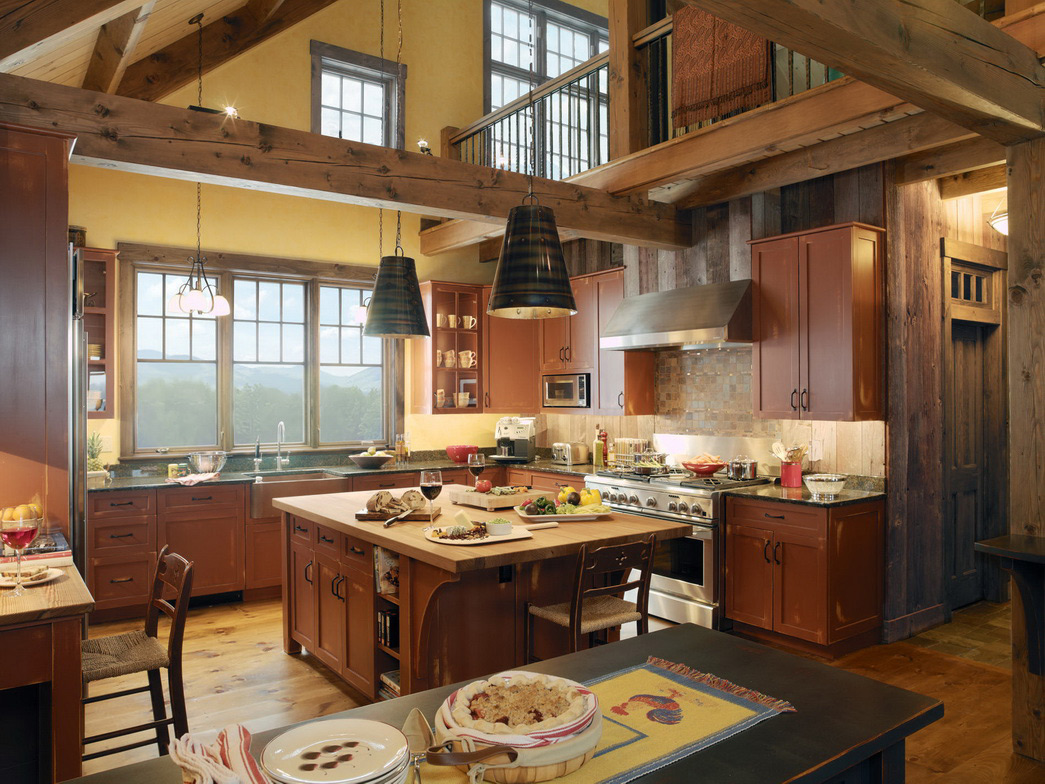 luxury country kitchen designs photo - 1