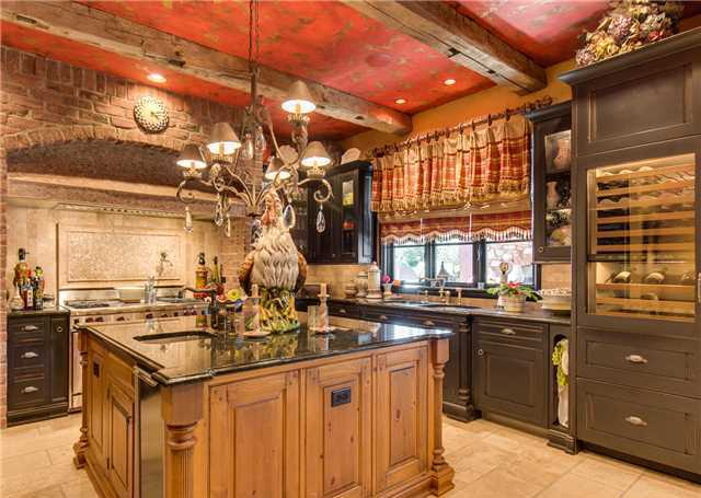 luxury country kitchen designs photo - 4