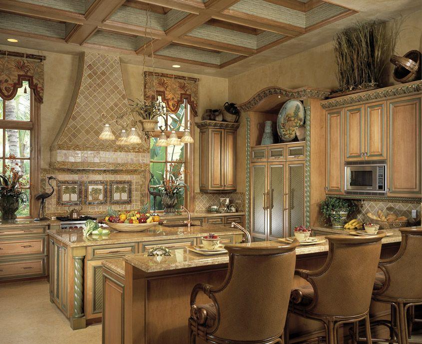 luxury country kitchen designs photo - 8