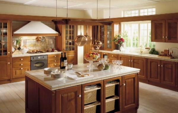 luxury country kitchen designs photo - 9