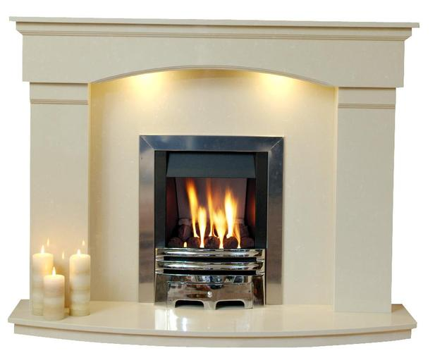 marble fire surrounds photo - 5
