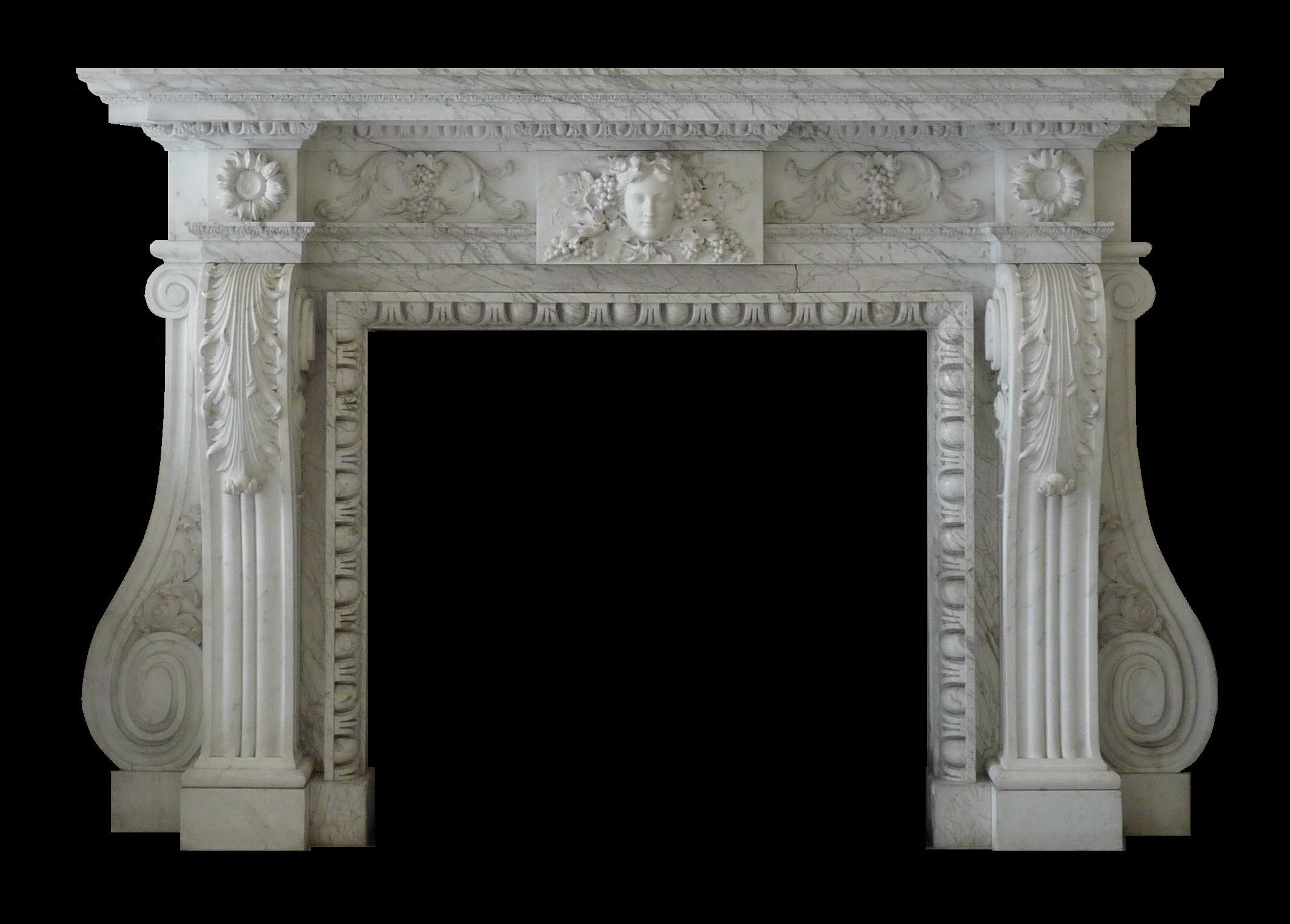 marble fire surrounds photo - 6