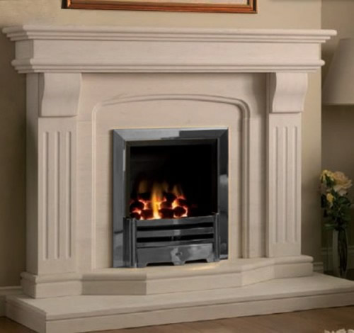 marble fire surrounds photo - 7