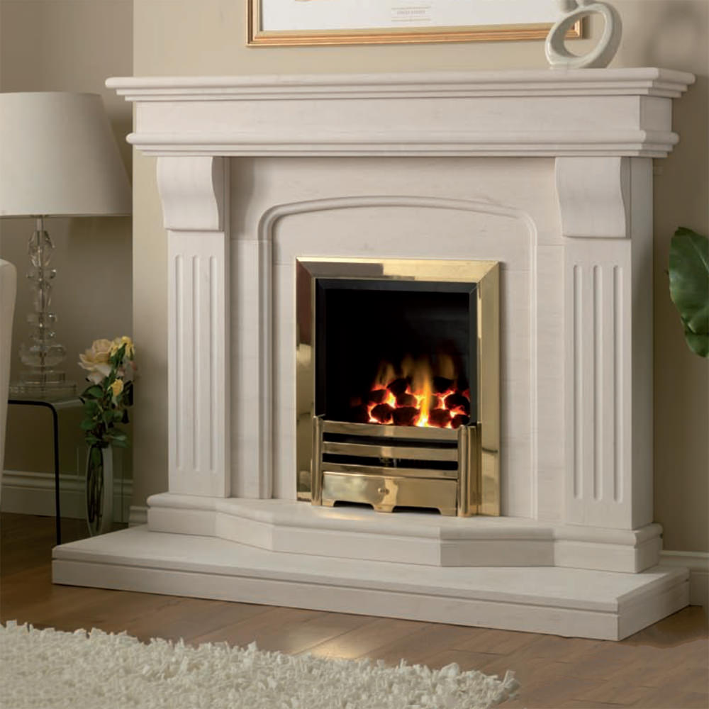 marble fire surrounds photo - 8