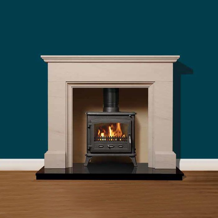 marble fire surrounds for wood burners photo - 6