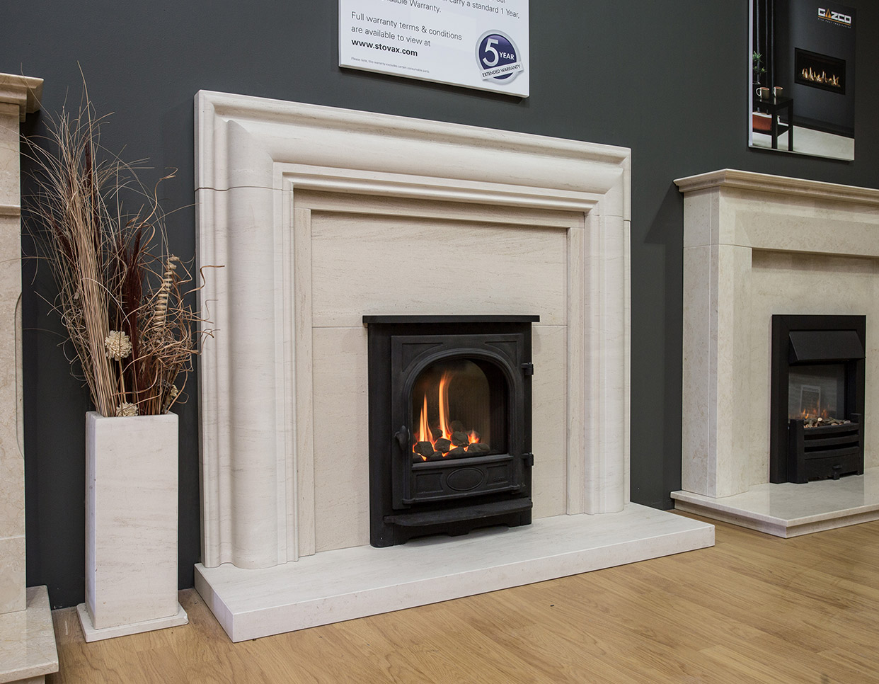 marble fire surrounds for wood burners photo - 7
