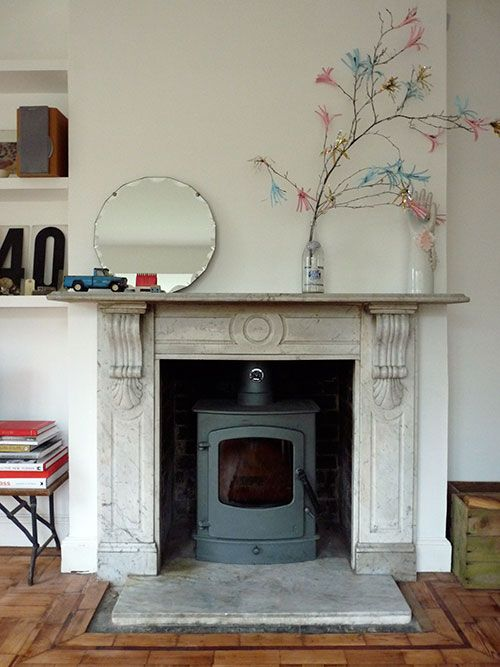 marble fire surrounds for wood burners photo - 8