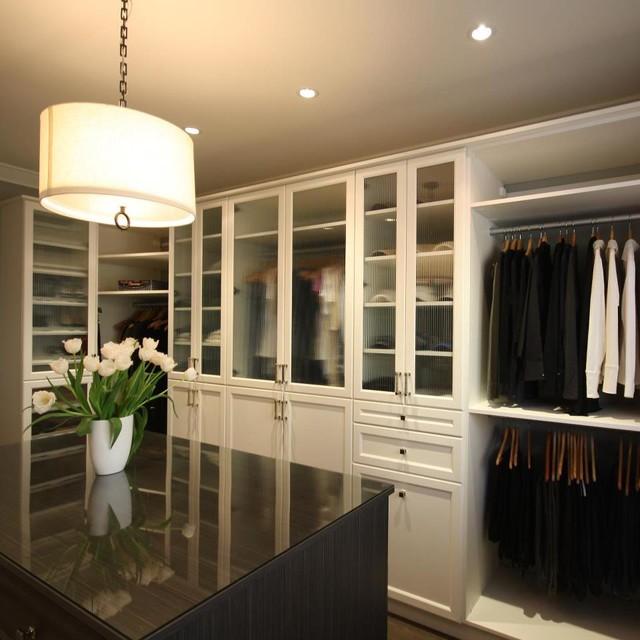 master walk in closet design photo - 4