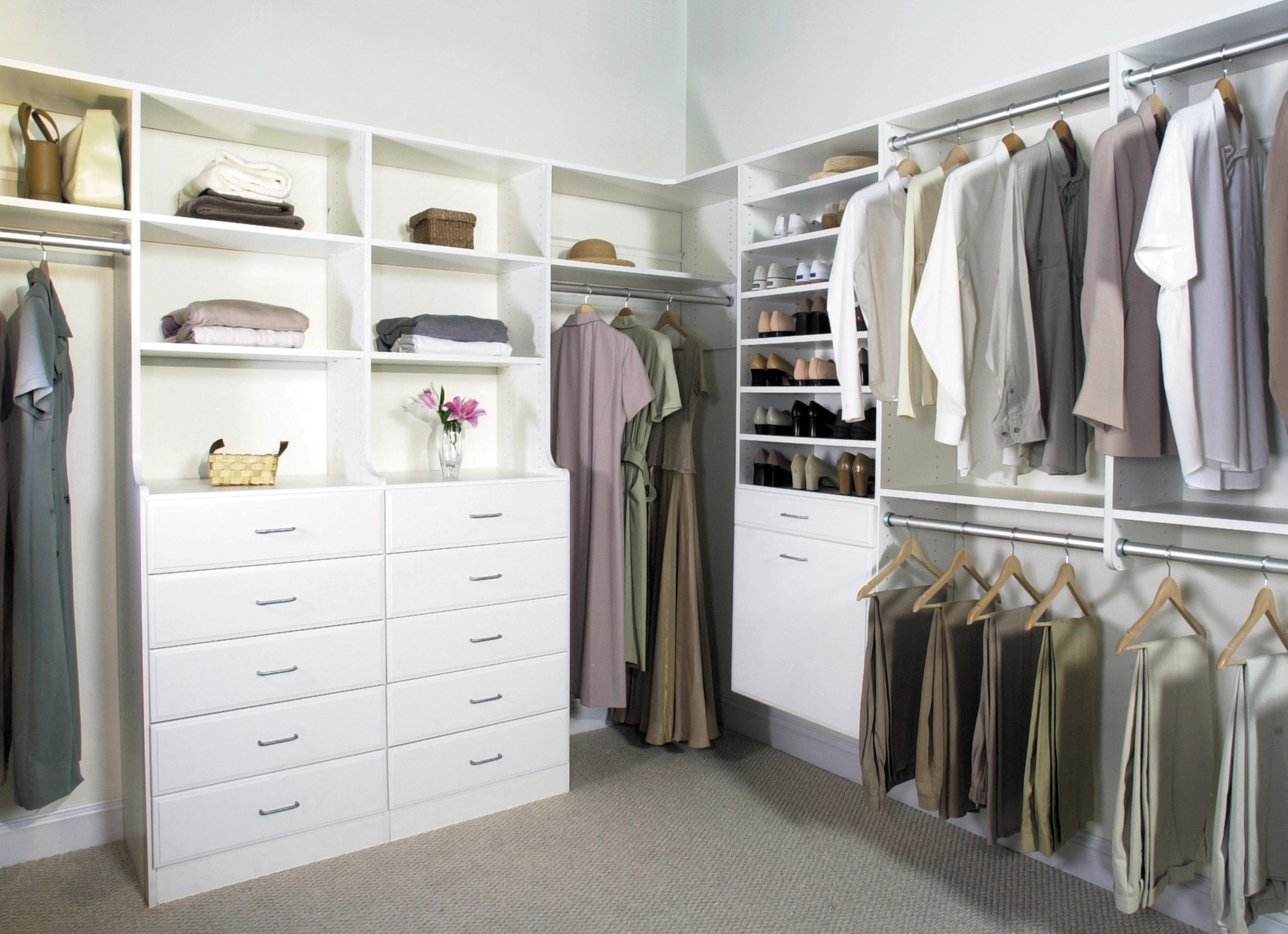 master walk in closet design photo - 6