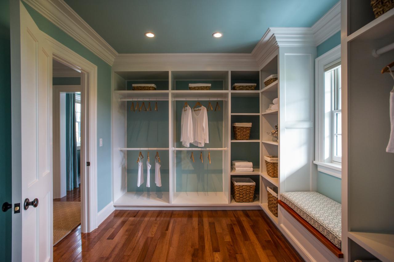 master walk in closet design photo - 9