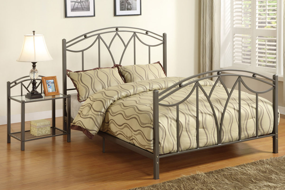 metal bedroom furniture for kids photo - 1