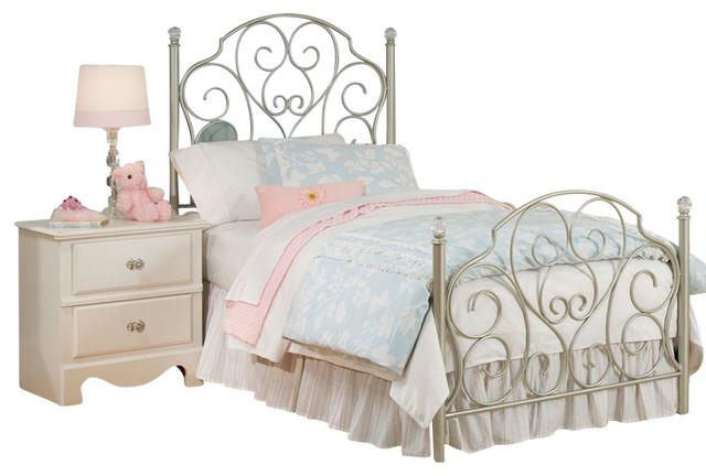 metal bedroom furniture for kids photo - 7
