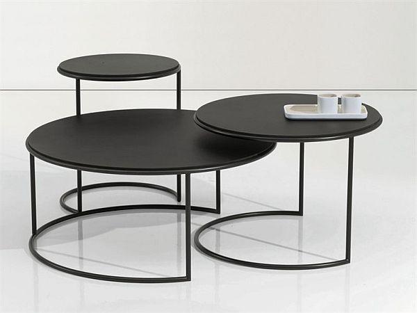 metal coffee table design photo - 2