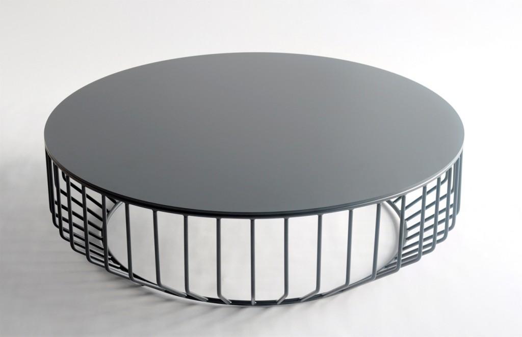 metal coffee table design photo - 3