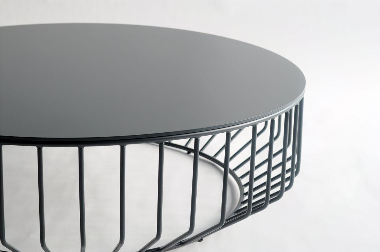 metal coffee table design photo - 4