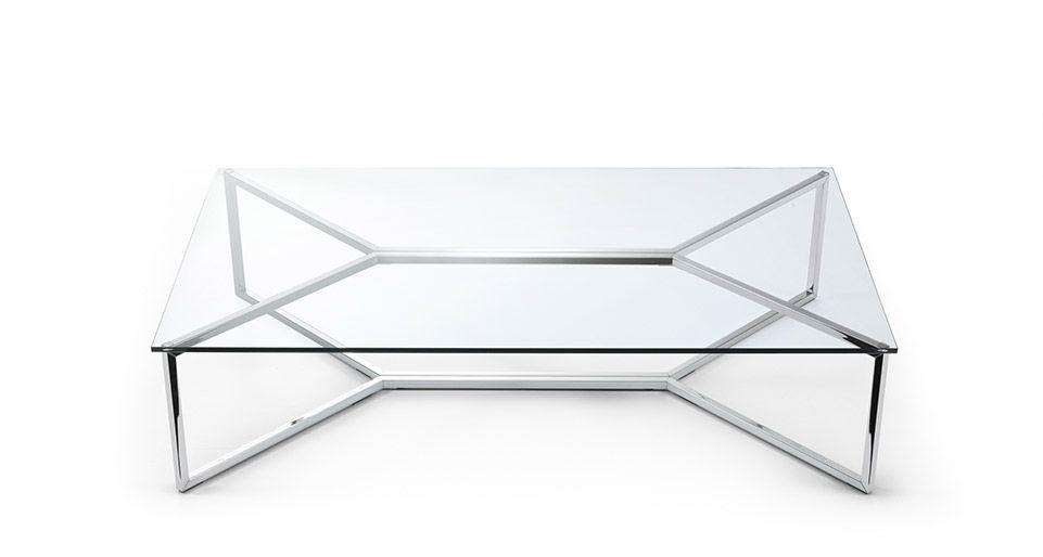 metal coffee table design photo - 8