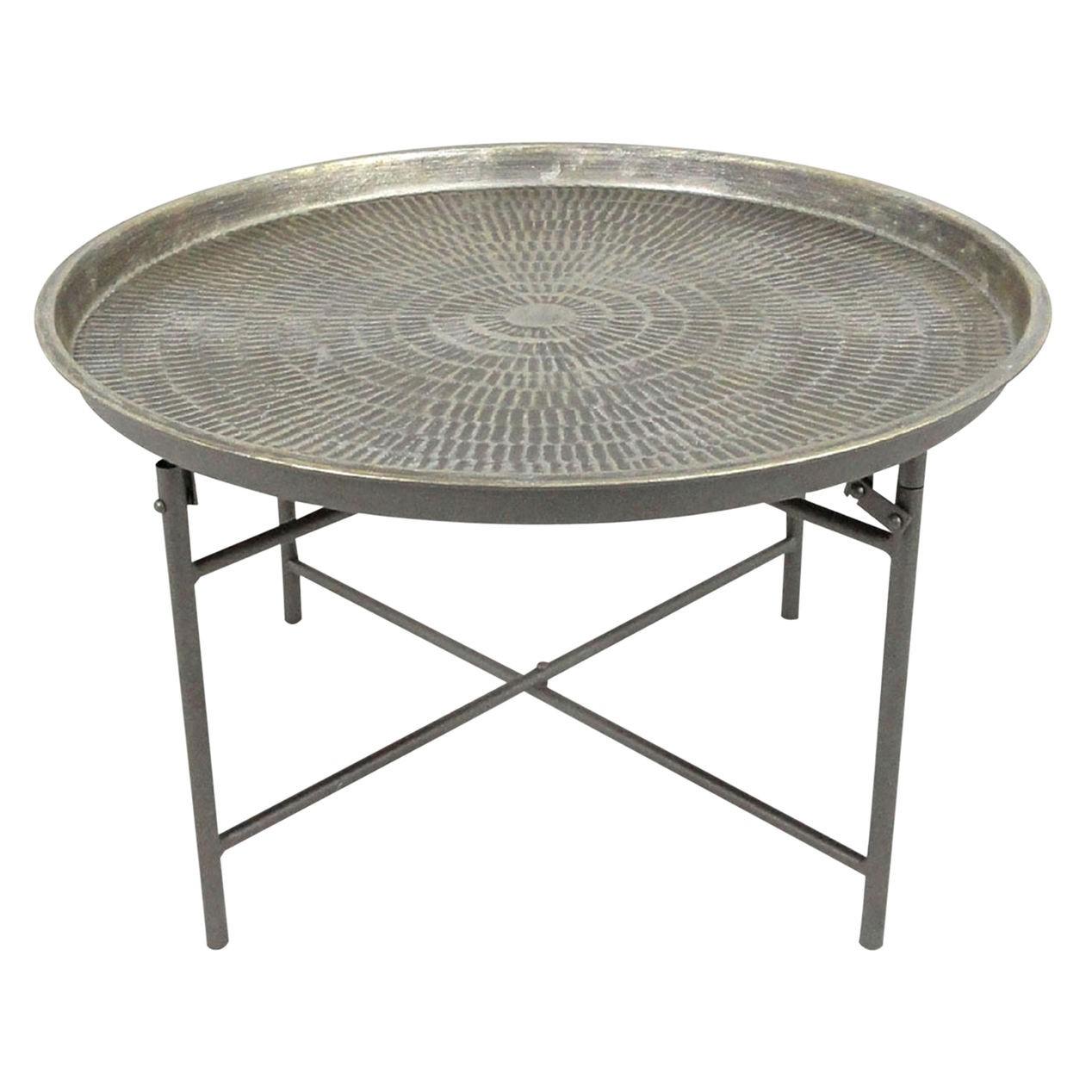 metal coffee table design photo - 9