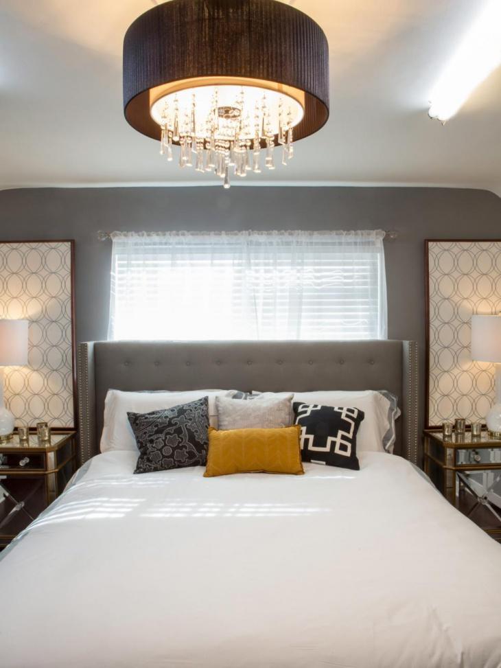 Mid Century Modern Bedroom Lighting Photo   2
