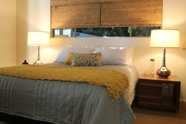 mid century modern bedroom lighting photo - 5