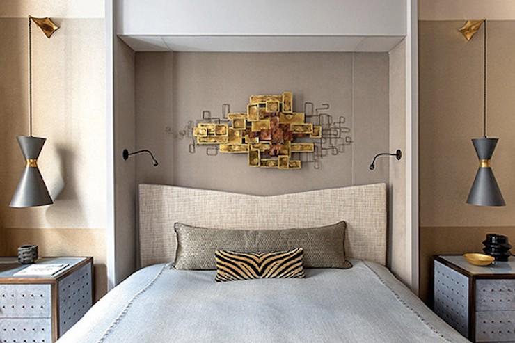 mid century modern bedroom lighting photo - 6