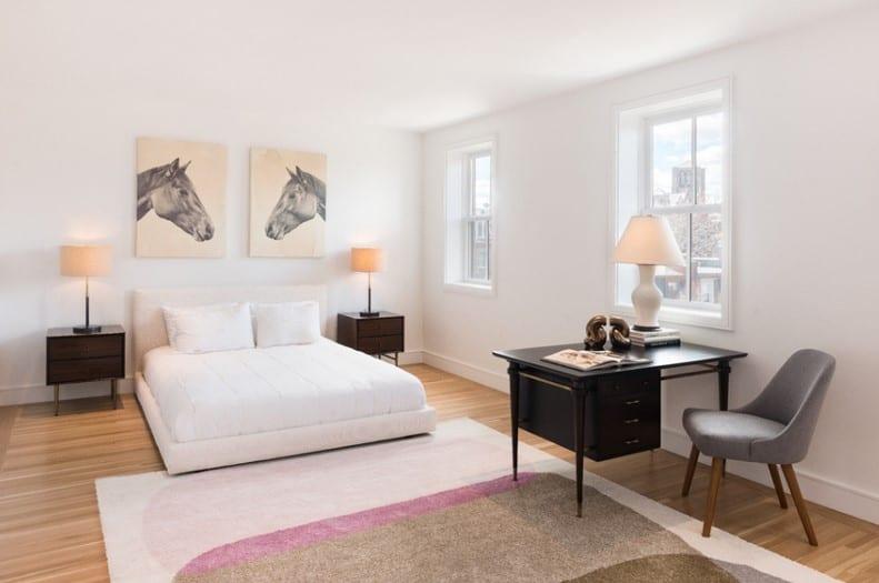 mid century modern bedroom lighting photo - 9