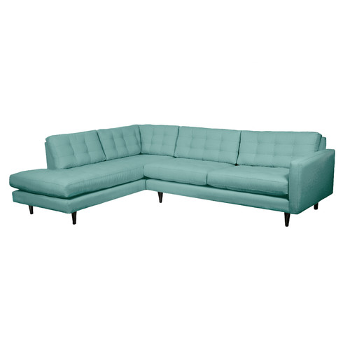 mid century modern sectional sofas photo - 4