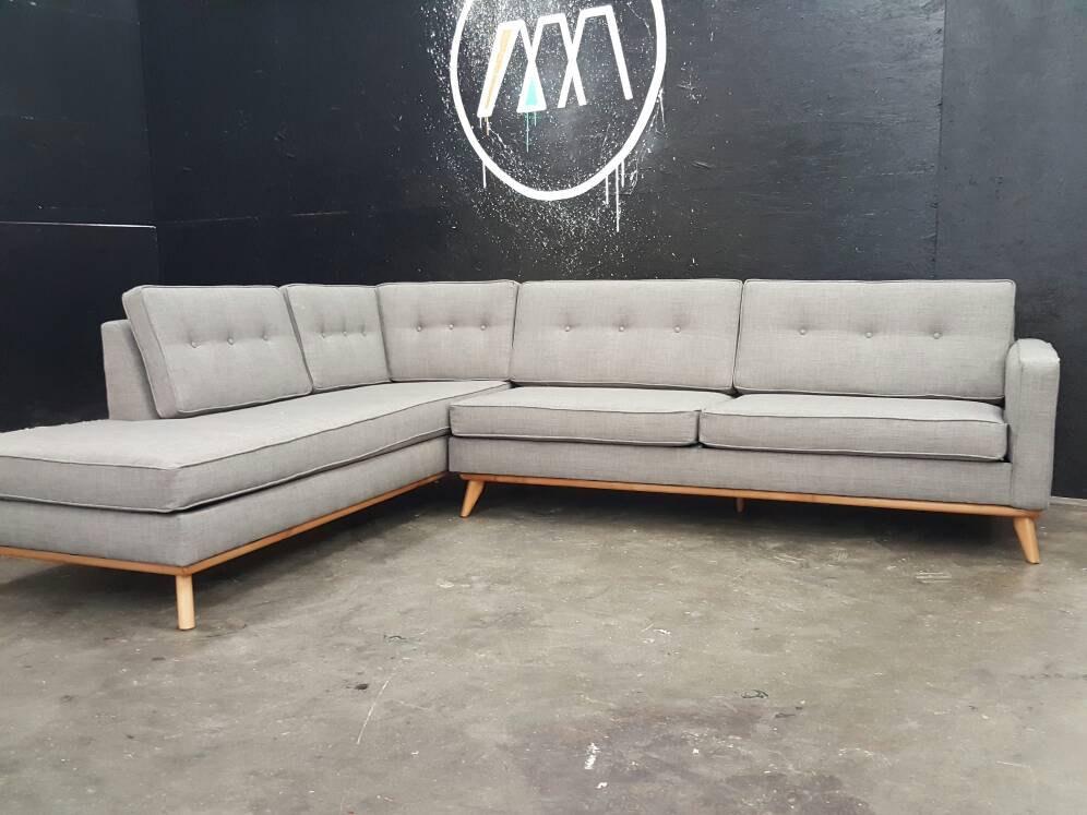 mid century modern sectional sofas photo - 7