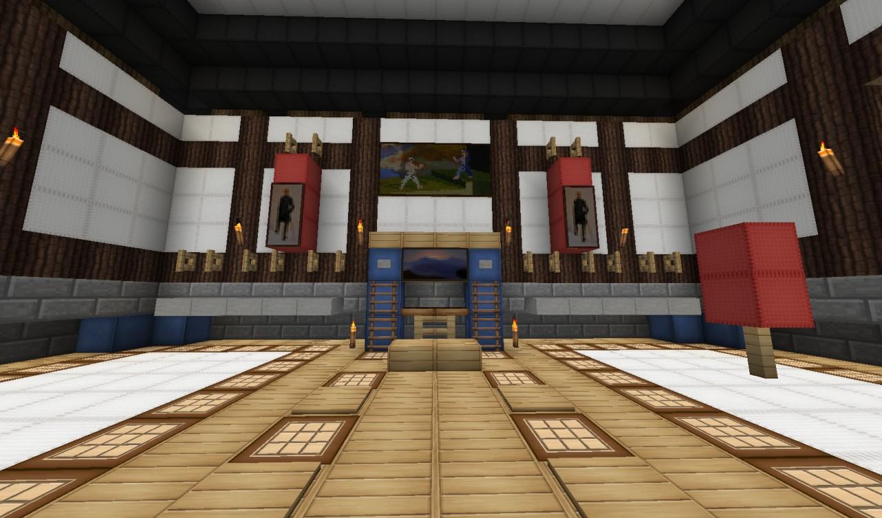 minecraft japanese house interior photo - 8
